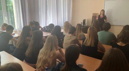 В Краснодарском институте культуры прошла беседа с молодежью о семейных ценностях.