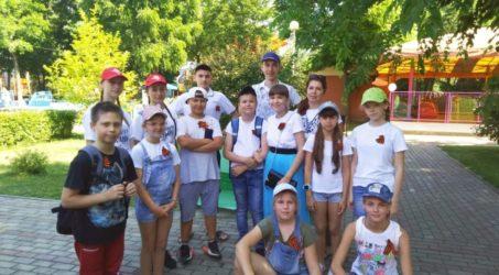 Праздник, посвященный дню защиты детей  в парке 30-летия Победы