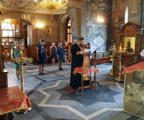 27 мая в Свято-Ильинском храме прошел очередной молебен для беременных.