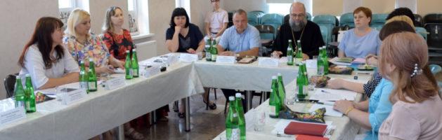 Круглый стол по реализации проекта «Светлая обитель» прошел в конференц-зале Свято-Ильинского храма