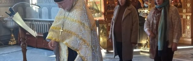Очередной молебен перед иконой «Помощница в родах» прошел в Свято-Ильинском храме.
